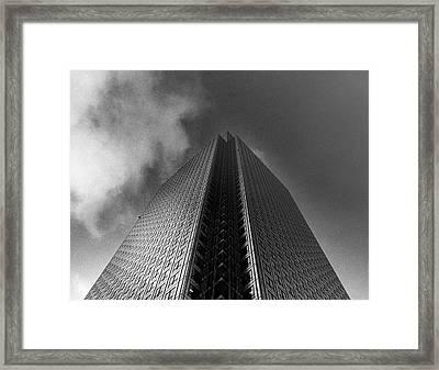 Canary Wharf London 3 Framed Print