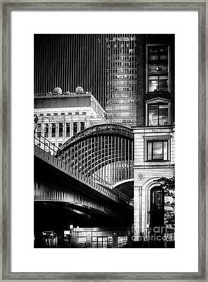 Canary Wharf Noir3 Framed Print