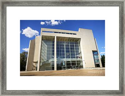 Canberra High Court Of Australia Framed Print by Colin and Linda McKie