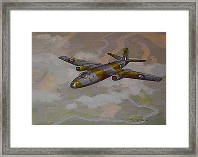 Canberra Sortie Framed Print by Murray McLeod