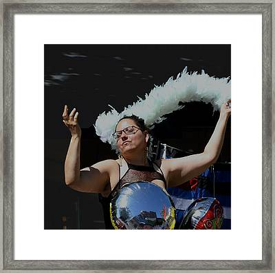 Cancan Framed Print by Gregory Whiting