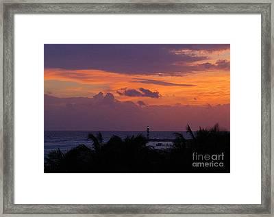 Cancun Lighthouse Framed Print by Halifax photographer John Malone