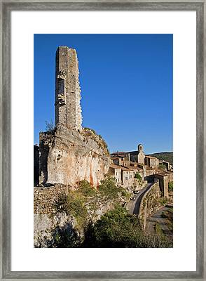 Candela - The Remaining Tower Framed Print by Panoramic Images