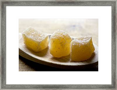 Candied Ginger Framed Print by Frank Tschakert