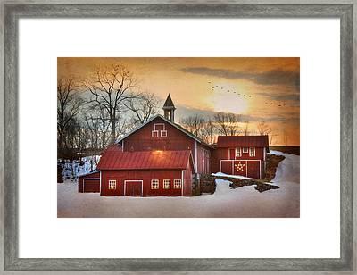 Candleglow Framed Print by Lori Deiter