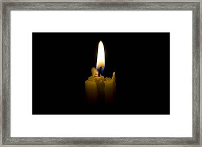 Candlelight Framed Print by Bill Cannon