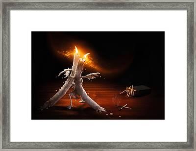 Candlelight Tango Framed Print