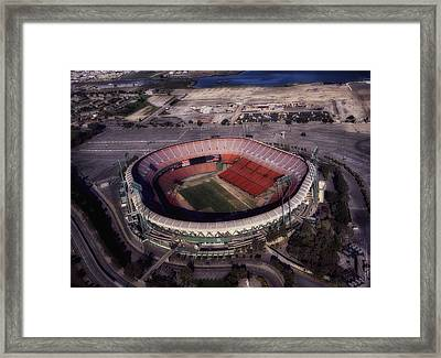 Candlestick Park Framed Print by Mountain Dreams