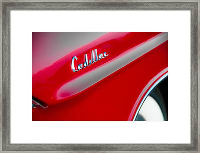 Candy Apple Red Framed Print by David Pinsent