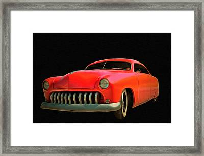 Candy Apple Red  Framed Print