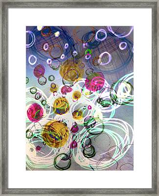 Candy Bowl Framed Print by Robert M Cooper