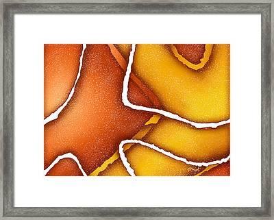 Candy Corn Framed Print