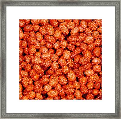 Candy Crunchies Framed Print