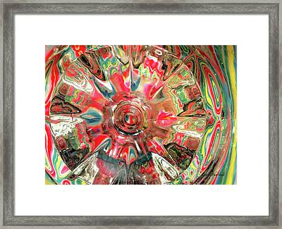 Candy Framed Print by Donna Blackhall