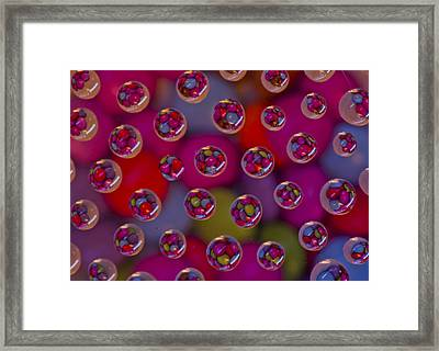 Candy Drops Framed Print by Brendan Quinn