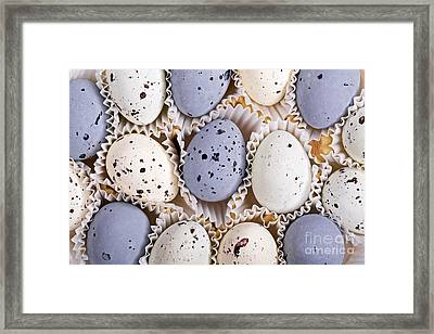 Candy Eggs Framed Print by Jane Rix