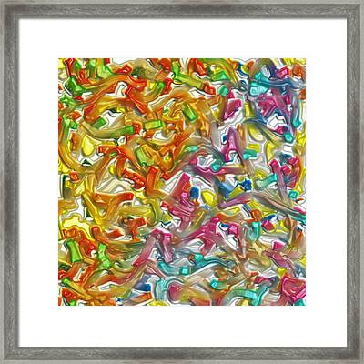 Candy Factory Framed Print by Alec Drake