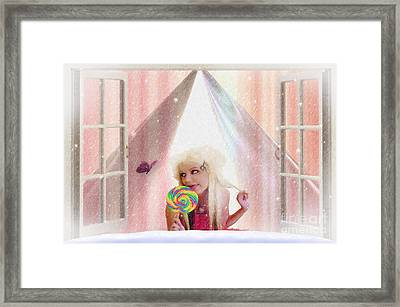 Candy Kisses Framed Print by Liane Wright