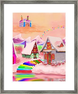 Candy Land Framed Print by Brad Simpson
