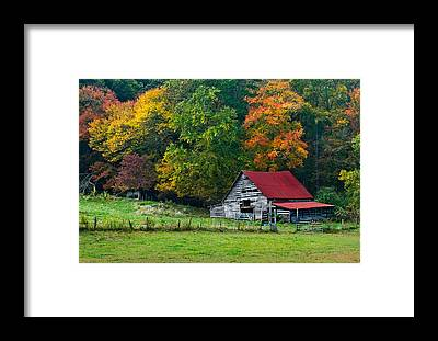 Tin Roof Framed Prints