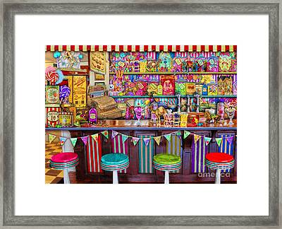 Candy Shop Framed Print by Aimee Stewart