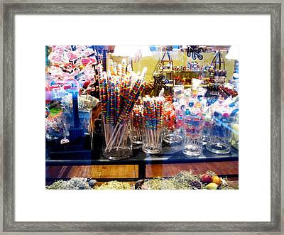 Candy Store 2 Framed Print by Will Boutin Photos