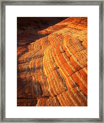 Candy Stripes II Framed Print by Ray Mathis