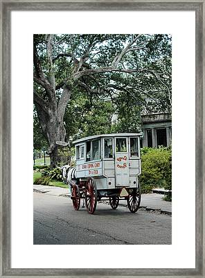 Candy Wagon In New Orleans Framed Print by Pam Kaster