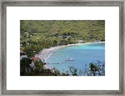 Cane Garden Bay Tortola Framed Print