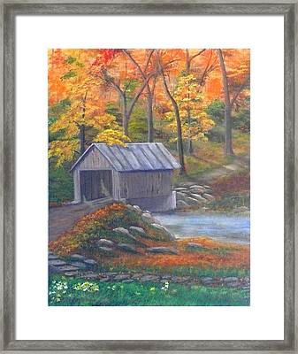 Caney Creek Framed Print
