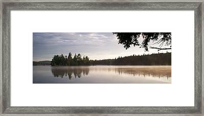 Canisbay Lake - Panorama Framed Print