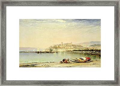 Cannes, 1897 Framed Print