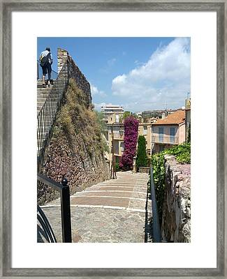 Cannes French Riviera II Framed Print by Shesh Tantry