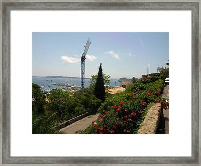 Cannes French Riviera IIi Framed Print by Shesh Tantry