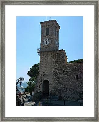 Cannes French Riviera V Framed Print by Shesh Tantry