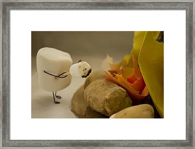 Cannibalism Is Sweet Framed Print by Heather Applegate