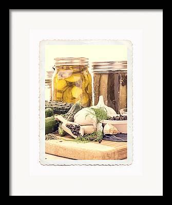 Pickling Framed Prints