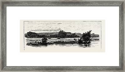 Cannock Chase, From The Trent, Uk. A Mixed Area Framed Print by English School