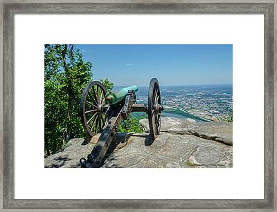 Cannon At Point Park Framed Print