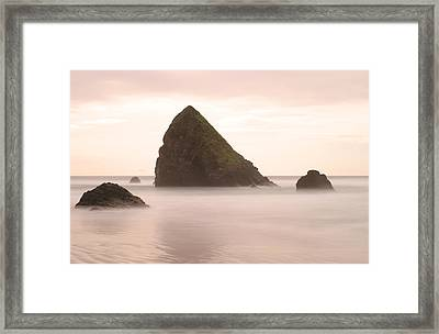 Cannon Beach - 1 Framed Print by Maxwell Amaro