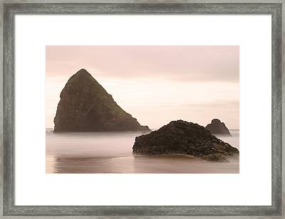 Cannon Beach - 2 Framed Print by Maxwell Amaro