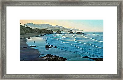 Cannon Beachcombers Framed Print by Paul Krapf