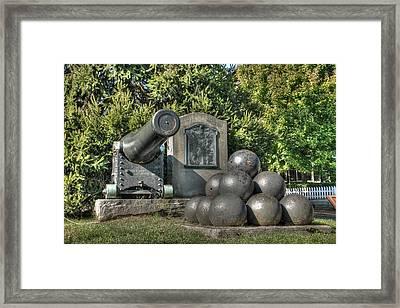 Cannon Framed Print by Lisa Hurylovich