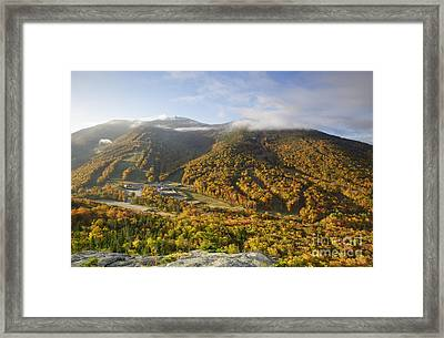 Cannon Mountain - Franconia Notch State Park New Hampshire Framed Print by Erin Paul Donovan