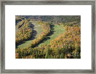 Cannon Mountain - White Mountains New Hanpshire Framed Print by Erin Paul Donovan