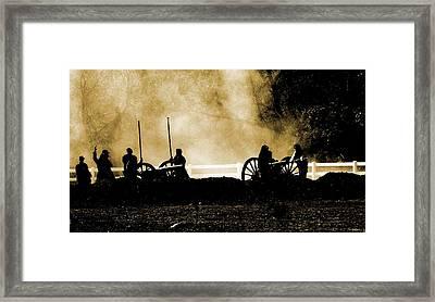 Cannon Ready 3 Framed Print by Chuck Kemp