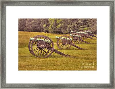 Cannon Row Framed Print
