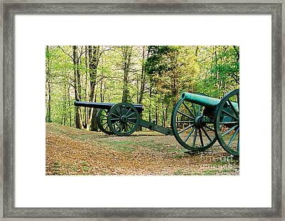 Cannons I Framed Print