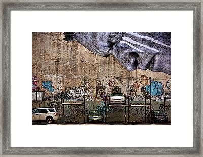 Cannot Look Framed Print by Joanna Madloch