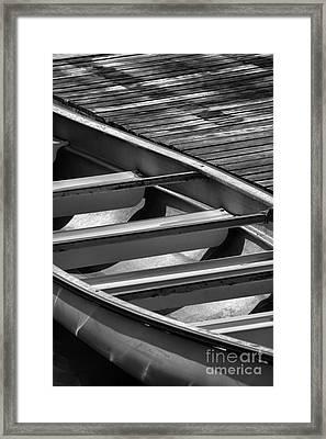 Canoe 2 Framed Print by Jeff Breiman